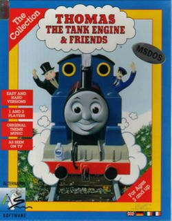 Box artwork for Thomas the Tank Engine: The Collection.