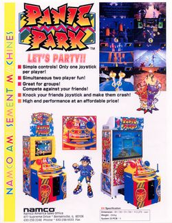 Box artwork for Panic Park.