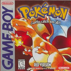 Box artwork for Pokémon Red and Blue.
