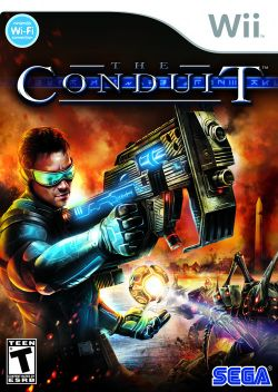 Box artwork for The Conduit.