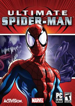 Box artwork for Ultimate Spider-Man.