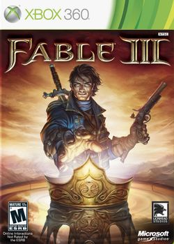 Box artwork for Fable III.