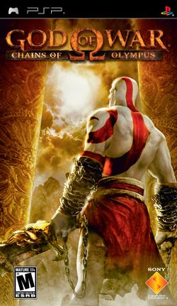 Box artwork for God of War: Chains of Olympus.