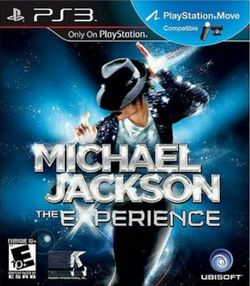 Box artwork for Michael Jackson: The Experience.
