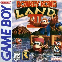 Box artwork for Donkey Kong Land III.