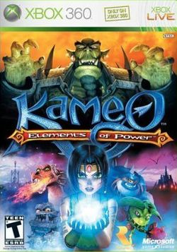 Box artwork for Kameo: Elements of Power.