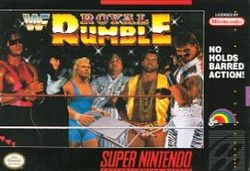 Box artwork for WWF Royal Rumble.