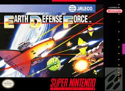 Box artwork for Earth Defense Force.