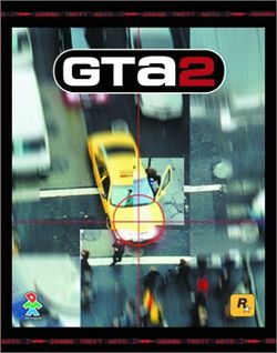 Box artwork for Grand Theft Auto 2.