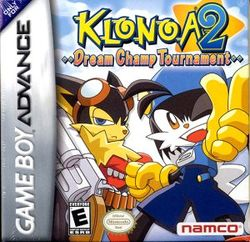 Box artwork for Klonoa 2: Dream Champ Tournament.