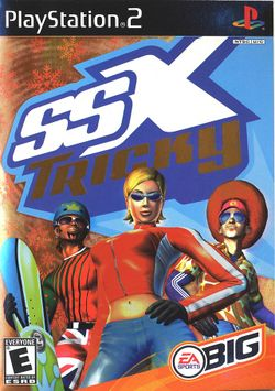 Box artwork for SSX Tricky.
