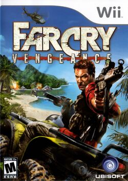 Box artwork for Far Cry Vengeance.
