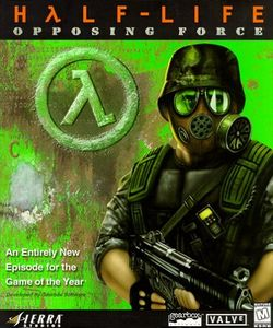 Box artwork for Half-Life: Opposing Force.