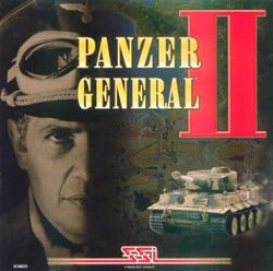 Box artwork for Panzer General II.