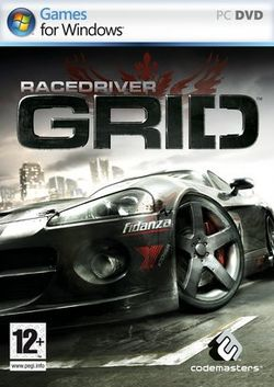 Box artwork for Race Driver: GRID.