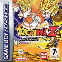 Box artwork for Dragon Ball Z: Supersonic Warriors.