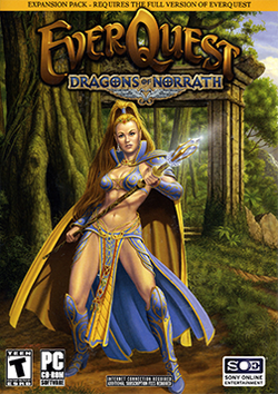 Box artwork for EverQuest: Dragons of Norrath.