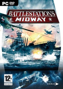 Box artwork for Battlestations: Midway.