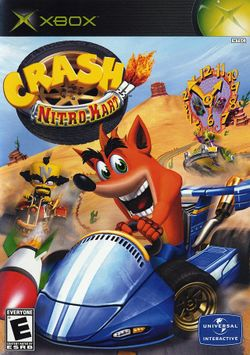Box artwork for Crash Nitro Kart.
