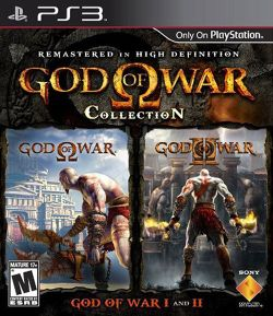 Box artwork for God of War Collection.