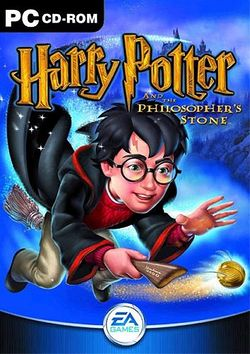 Box artwork for Harry Potter and the Philosopher's Stone.