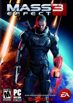Box artwork for Mass Effect 3.