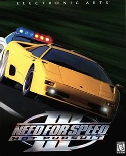 Box artwork for Need for Speed III: Hot Pursuit.