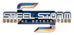 Box artwork for Steel Storm: Burning Retribution.