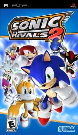 Box artwork for Sonic Rivals 2.