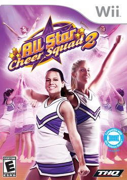 Box artwork for All Star Cheer Squad 2.
