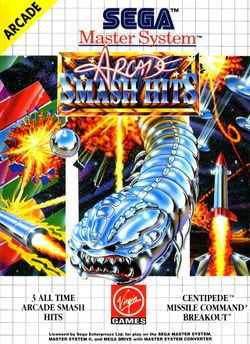 Box artwork for Arcade Smash Hits.