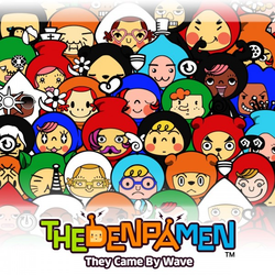 Box artwork for The Denpa Men: They Came By Wave.