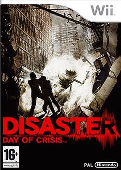 Box artwork for Disaster: Day of Crisis.