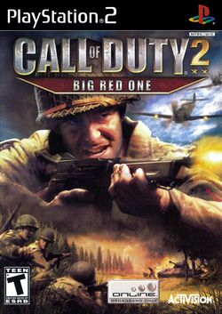 Box artwork for Call of Duty 2: Big Red One.