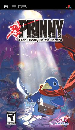 Box artwork for Prinny: Can I Really Be the Hero?.