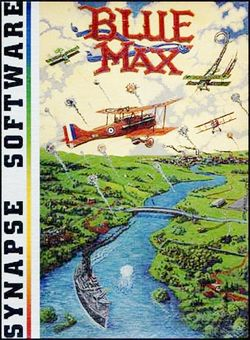 Box artwork for Blue Max.