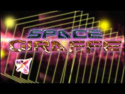 Box artwork for Space Giraffe.