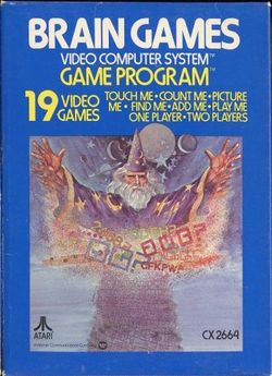 Box artwork for Brain Games.
