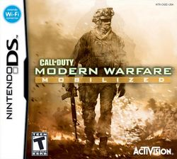 Box artwork for Call of Duty: Modern Warfare: Mobilized.