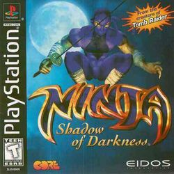 Box artwork for Ninja Shadow of Darkness.