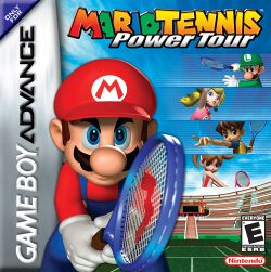 Box artwork for Mario Tennis: Power Tour.