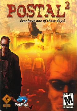 Box artwork for Postal 2.