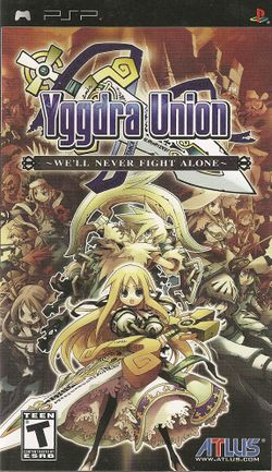 Box artwork for Yggdra Union: We'll Never Fight Alone.