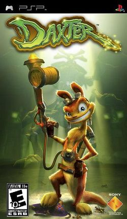 Box artwork for Daxter.