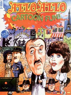 Box artwork for 'Allo 'Allo Cartoon Fun.