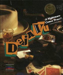Box artwork for Déjà Vu.