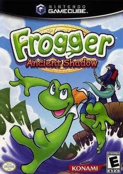 Box artwork for Frogger: Ancient Shadow.