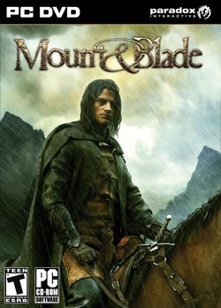 Box artwork for Mount&Blade.
