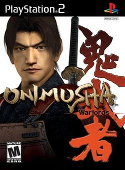 Box artwork for Onimusha: Warlords.