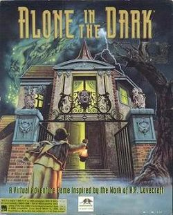 Box artwork for Alone in the Dark.